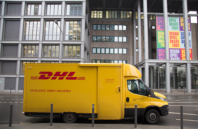 DHL Vehicle Graphics