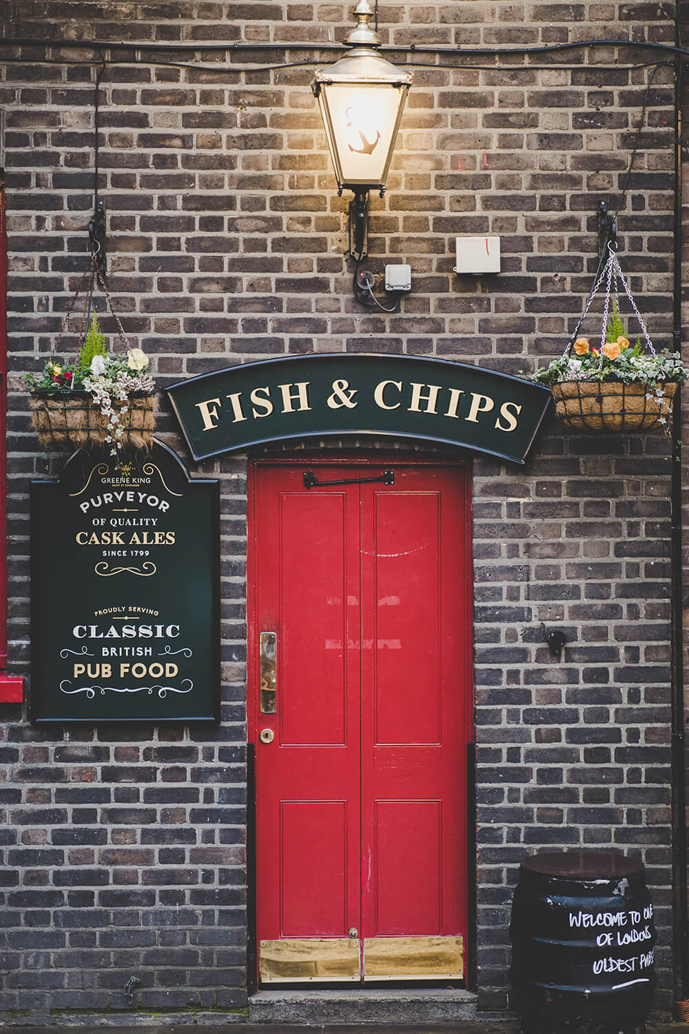 Fish and Chips fascia signage