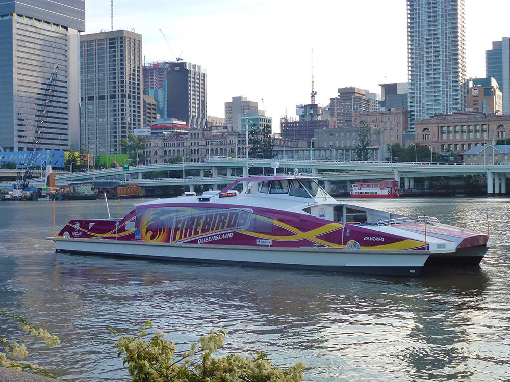 Firebirds customized vinyl boat wraps in California