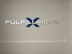Fulfillment front desk signs