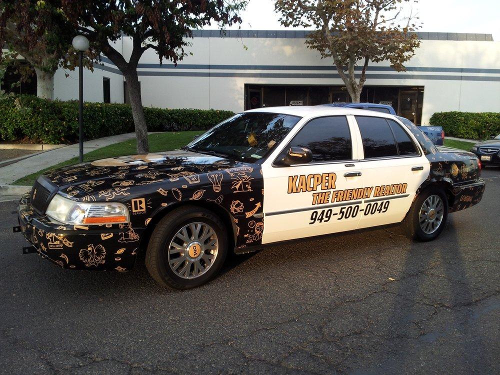 Full vehicle wraps in Irvine, CA