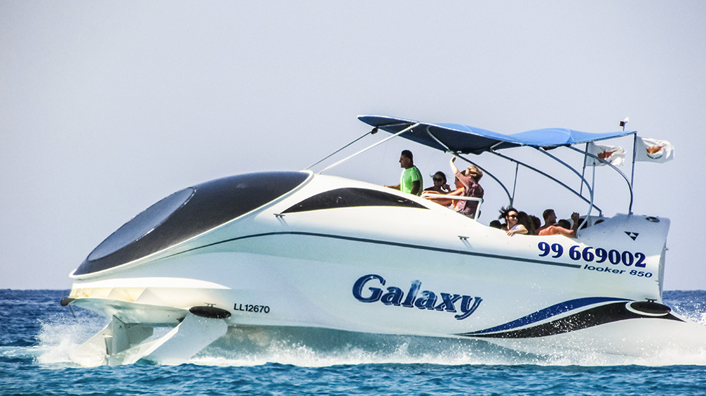 Galaxy boat wraps and decals for business in California