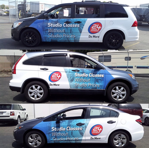 Custom commercial vehicle wraps and graphics in Santa Ana, CA