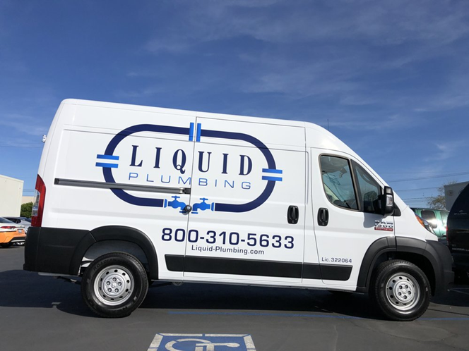 Commercial truck advertising wraps by VizComm Signs and Graphics in Fountain Valley, CA