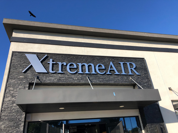 Xtreme Air Commercial Storefront Signs by VizComm Signage Group