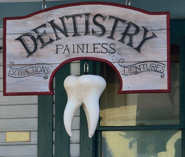 Hanging Dentistry Signs