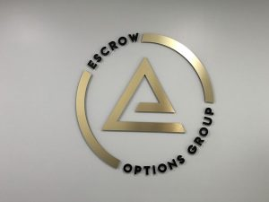 Custom Metal Wall Logo by VizComm Signs & Graphics