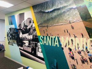 Custom 3D Modern Wallpaper Murals for Office in California
