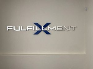 Fulfillment Metal Lobby Signs in Santa Ana, CA