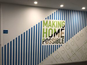 Attractive Custom Wall Murals for Office Space in Orange County, California