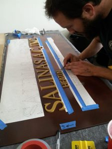 Custom Made Lobby Signs Manufacturing