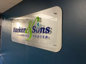 Custom Lobby Signs for Baker & Son
