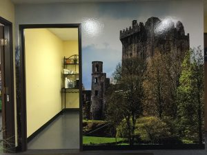 Office Mural Wallpaper Custom Printed by VizComm Signs & Graphics