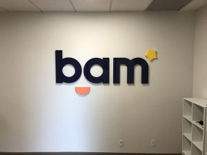 Office Lobby Signs for BAM