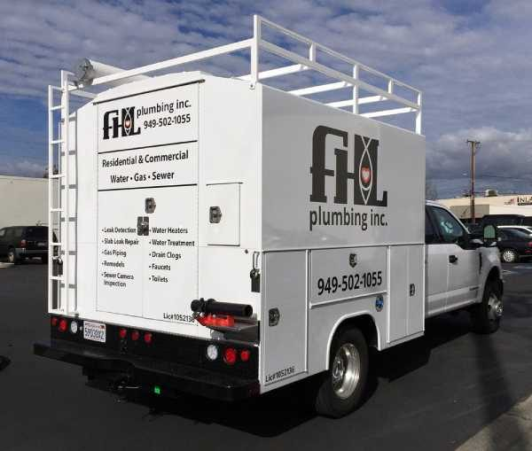 Custom vehicle wrap design for one of our client's new truck (1)